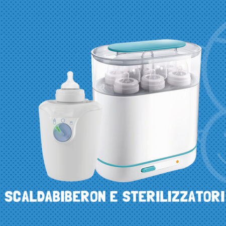 Scaldabiberon e sterilizzatori